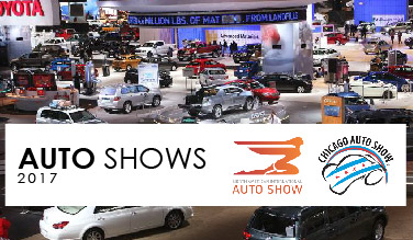 Auto Shows 2017: North American International Auto Show (NAIAS) and Chicago Auto Show