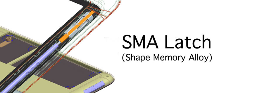 SMA (Shape Memory Alloy) Latch for the Dell Adamo