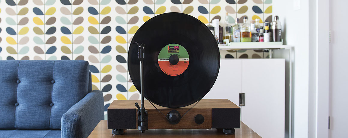 Gramovox Floating Record Player Product Design and Development