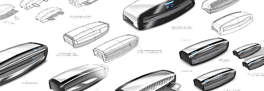 fellowes laminator design and development