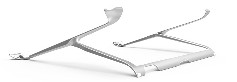 HumanToolz iPad stand with minimal profile