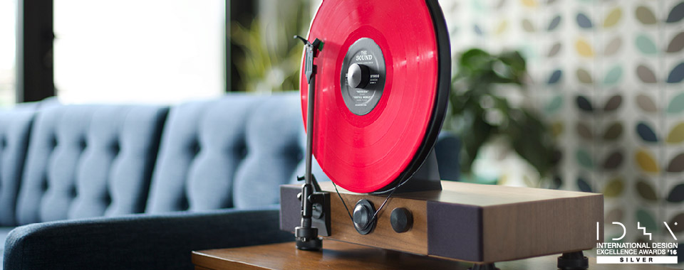 Gramovox Floating Record Player IDEA Award Winner