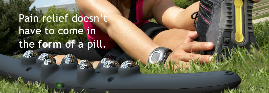 Pain relief doesn't have to come in the form of a pill.