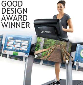 Good Design Award for Life Fitness UI