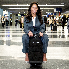 Modobag World's First Rideable Luggage