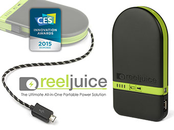 Lynktec Reeljuice Wins CES 2015 Award
