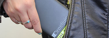 Reeljuice charger puts power in your pocket