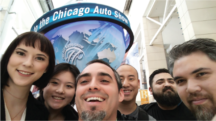 Product Development Technologies (PDT) Team at the Chicago Auto Show 2017